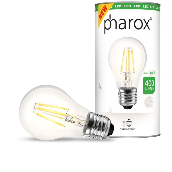Pharox-LED-svetilka-prozorna-E27-4W-400-lumnov