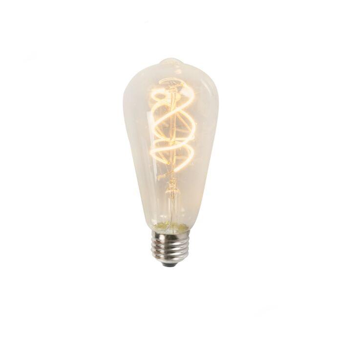 Zvita-LED-žarnica-ST64-5W-2200K-prozorna