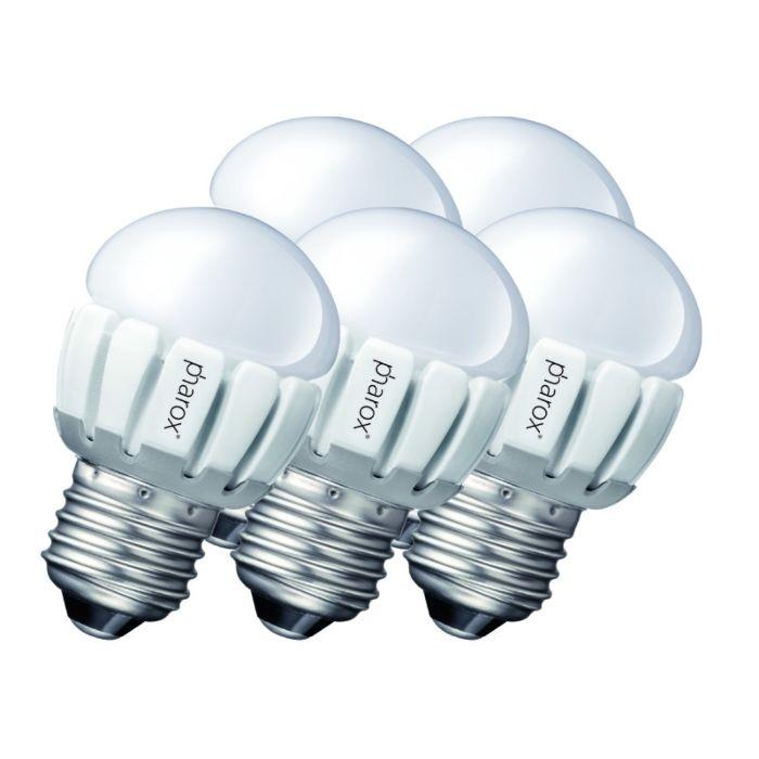 Komplet-5-Pharox-LED-200-P45-E27-5W-230V