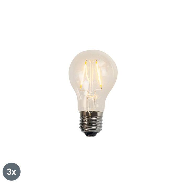Komplet-3-žarnic-z-žarilno-nitko-A60-2W-2200K-prozorne