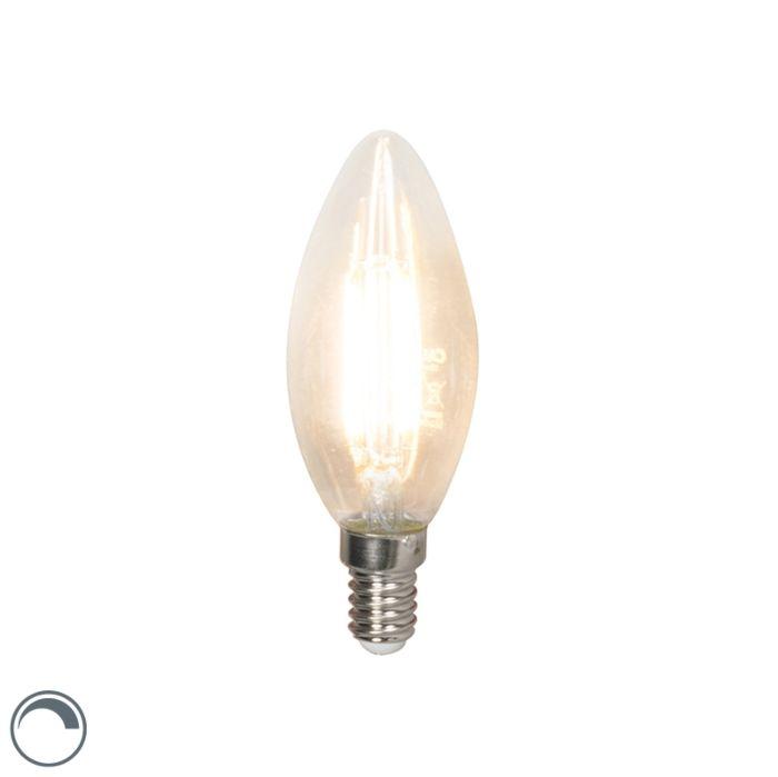LED-žarnica-z-žarilno-nitko-E14-240V-3,5W-350lm-B35-zatemnitev