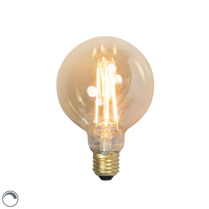 LED-dolga-žarnica-z-žarilno-nitko-E27-240V-4W-320lm-zatemnitvena