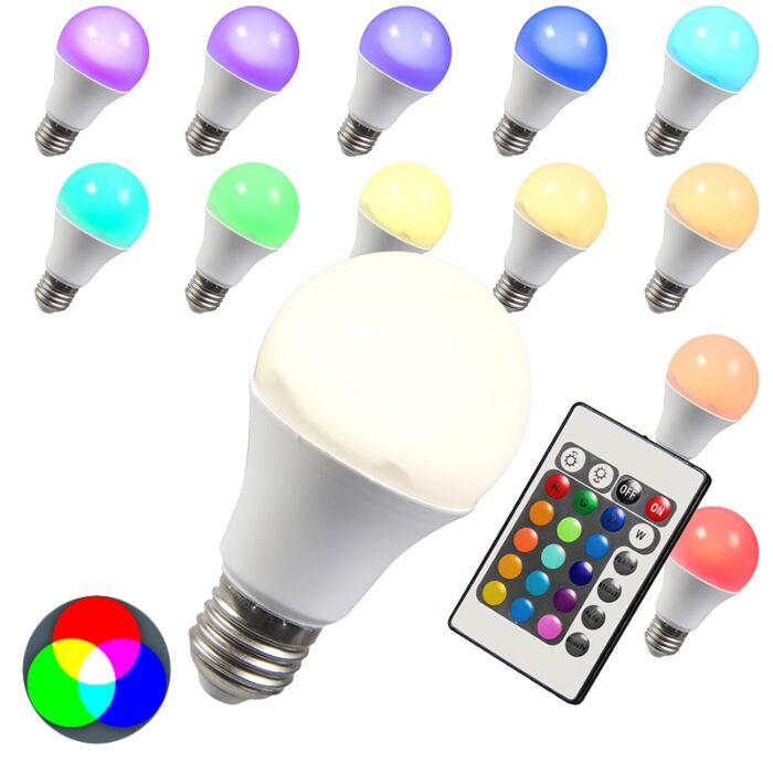 LED-žarnica-RGB-E27-10W-ekstra-toplo-bela
