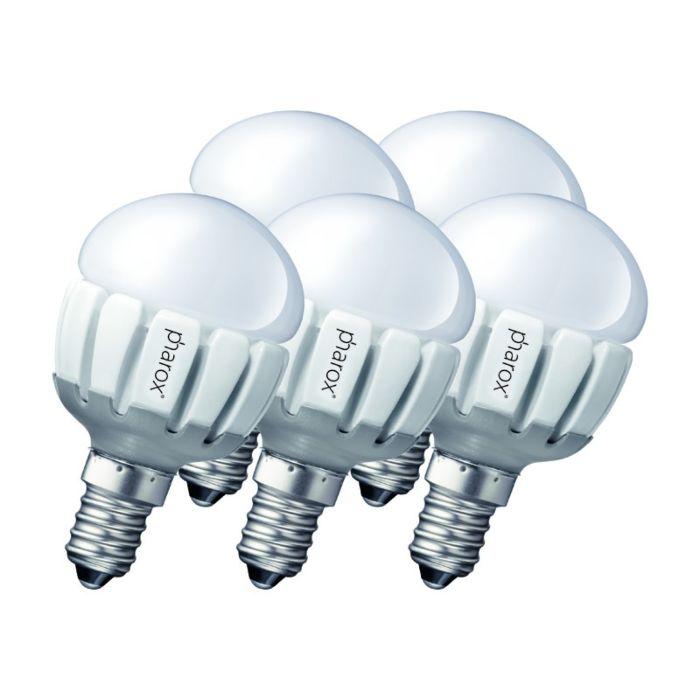 Komplet-5-Pharox-LED-200-P45-E14-5W-230V