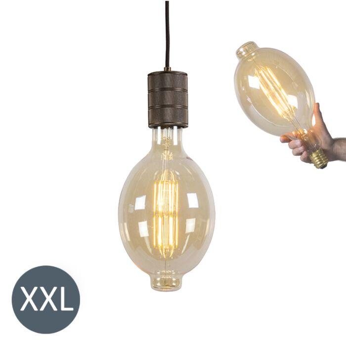 Viseča-svetilka-Kolosej-z-zatemnjeno-LED-svetilko