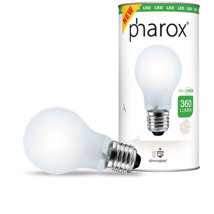 Pharox-LED-svetilka-mat-E27-4W-360-lumnov