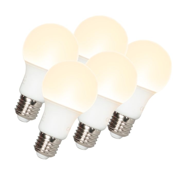 Komplet-5-LED-žarnic-A60-E27-9W-3000K
