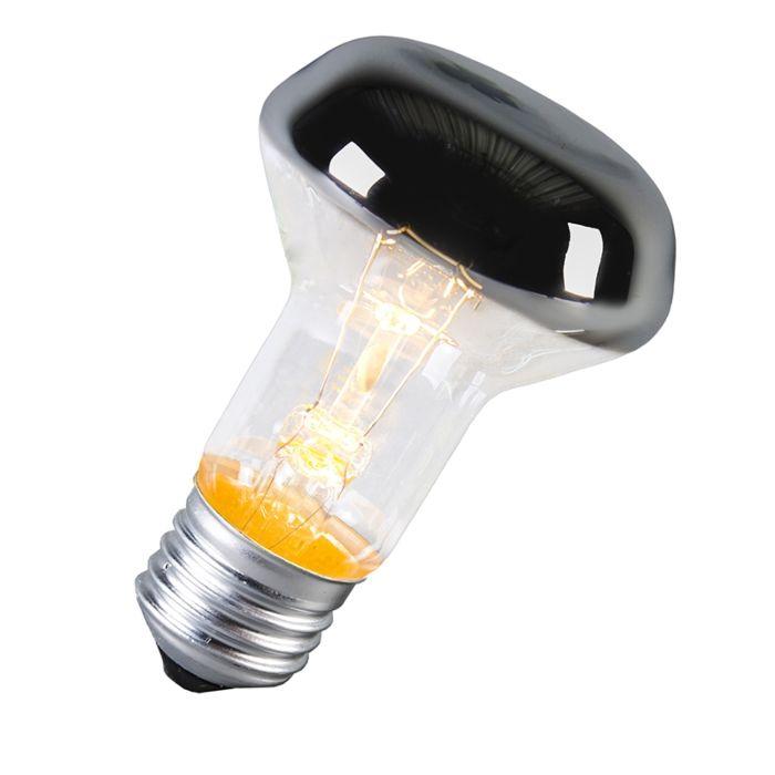 Žarnica-E27-pol-ogledalo-60W