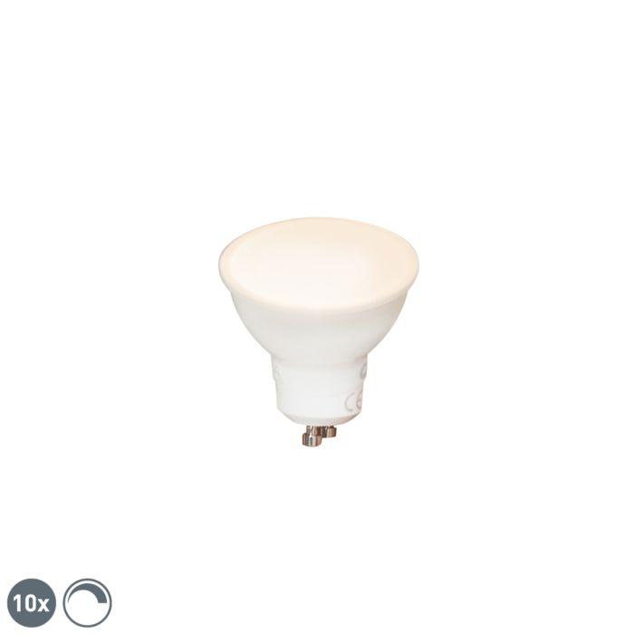 Komplet-10-zatemnljivih-LED-svetilk-GU10-6W-450-lm-2700K