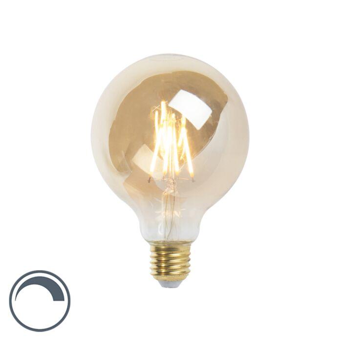 LED-žarnica-z-žarilno-nitko-E27-G95-goldline-360lm-2200K