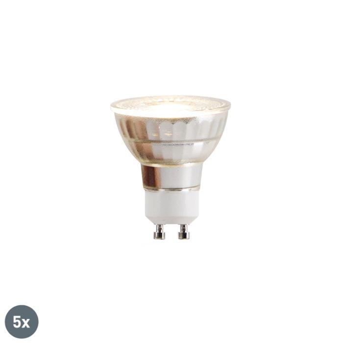 Komplet-5-GU10-LED-žarnic-COB-5W-380lm-2700K
