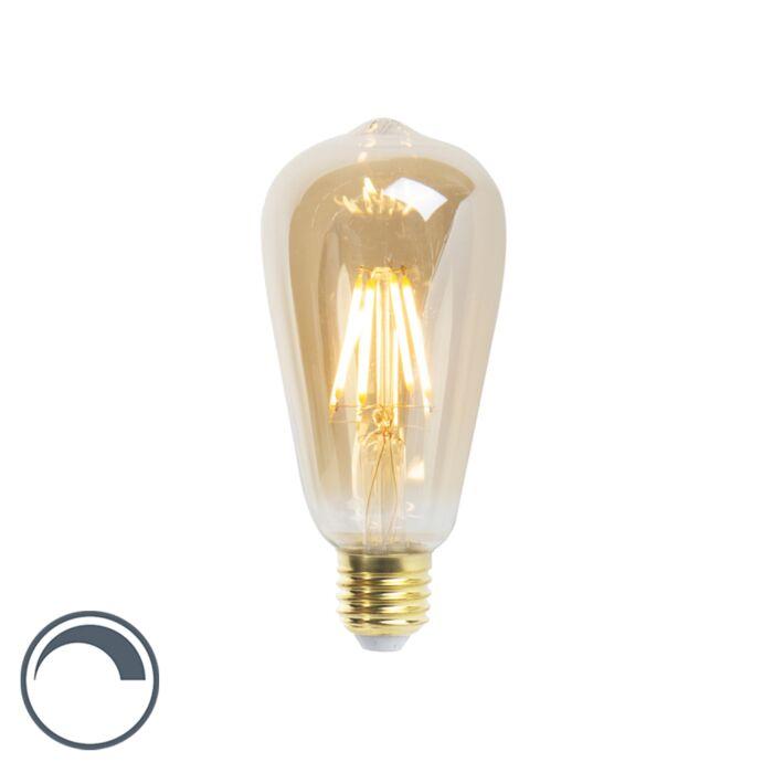 LED-žarnica-z-žarilno-nitko-ST64-E27-5W-360-lumnov-2200K-zatemnitev