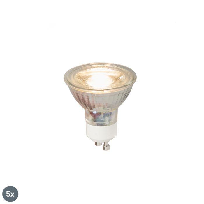 Komplet-5-GU10-LED-žarnic-COB-5W-380LM-3000K