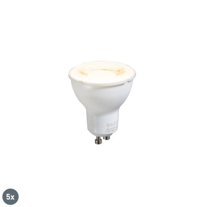 Komplet-5-žarnic-GU10-7,5-W-3000K