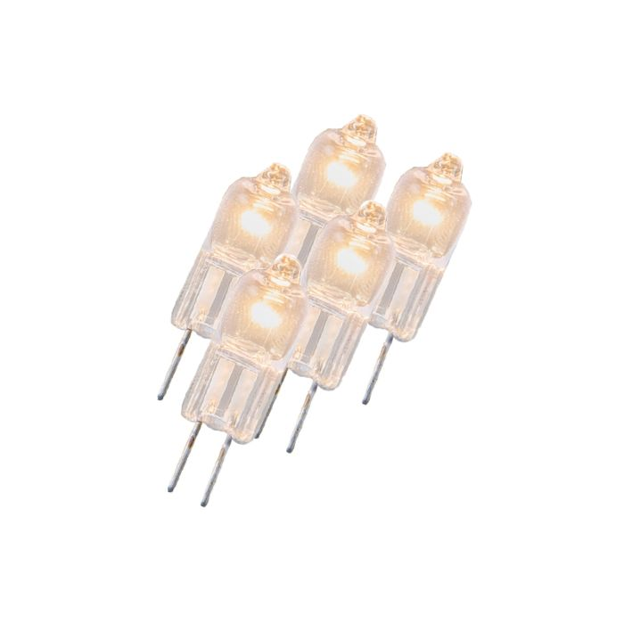 Komplet-5-halogenih-žarnic-G4-5W-12V-prozorna