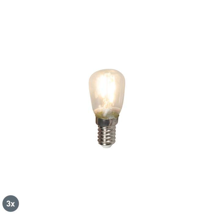 Komplet-3-E14-LED-žarnic-z-žarilno-nitko-T26-1W-100lm-2700-K.