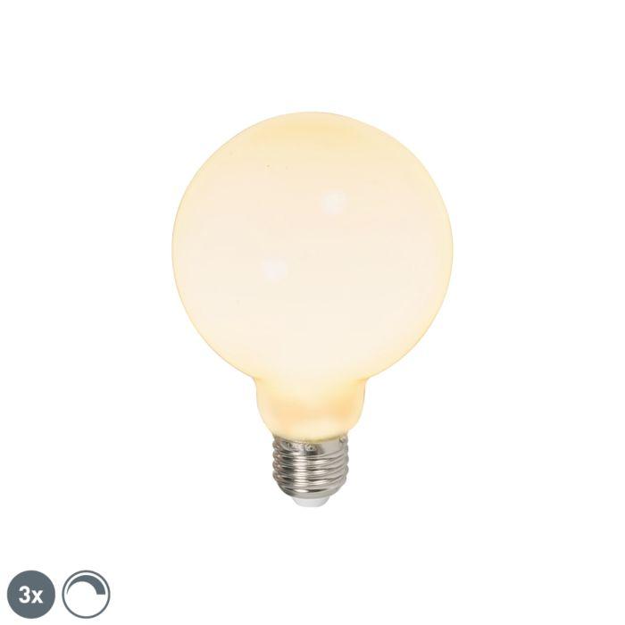 Komplet-3-LED-žarnic-E27-240V-6W-650lm-zatemnitve