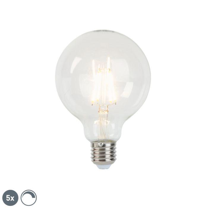Komplet-5-žarnic-z-žarilno-nitko-LED-E27-G95-5W-470-lm-2700K