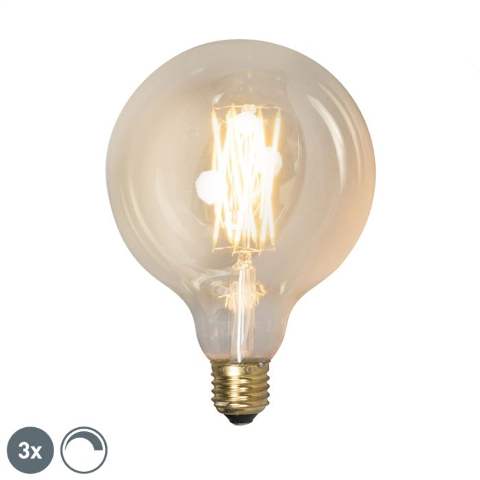 Komplet-3-E27-zatemnljivih-LED-svetilk-G125-goldline-320lm-2100-K.