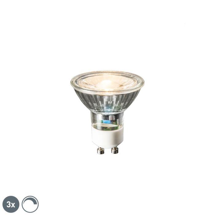 Komplet-3-LED-svetilk-GU10-6W-450-lumnov-2700K-zatemnitve