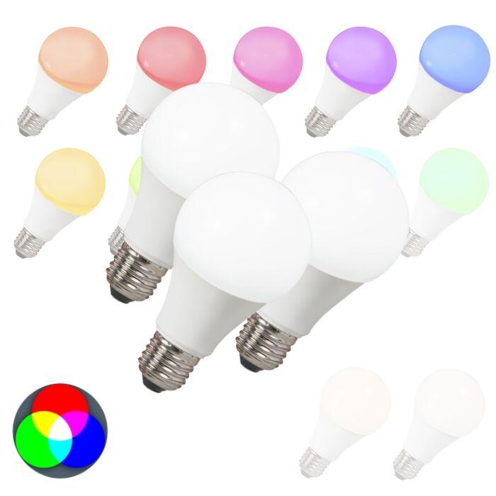 Komplet-3-LED-žarnic-E27-240V-7W-500lm-A60-Smart-Light