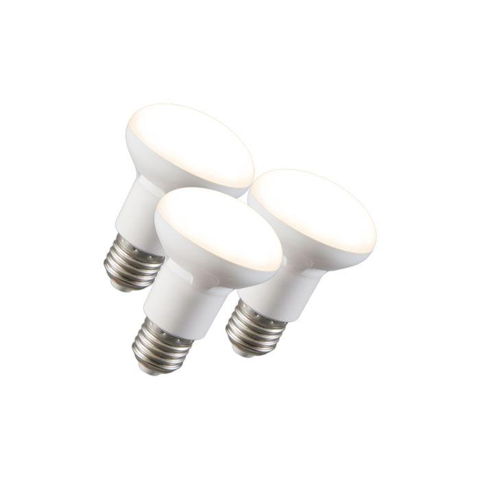 Komplet-3-LED-reflektorskih-svetilk-R63-E27-240V-8W-2700K-zatemnitve