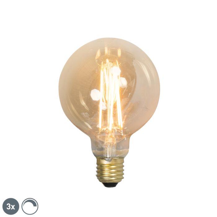 Komplet-3-E27-žarnic-z-žarilno-nitko-E27-G95-goldline-2100K
