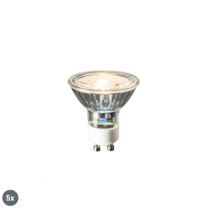 Komplet-5-GU10-LED-žarnic-COB-3W-230lm-2700K