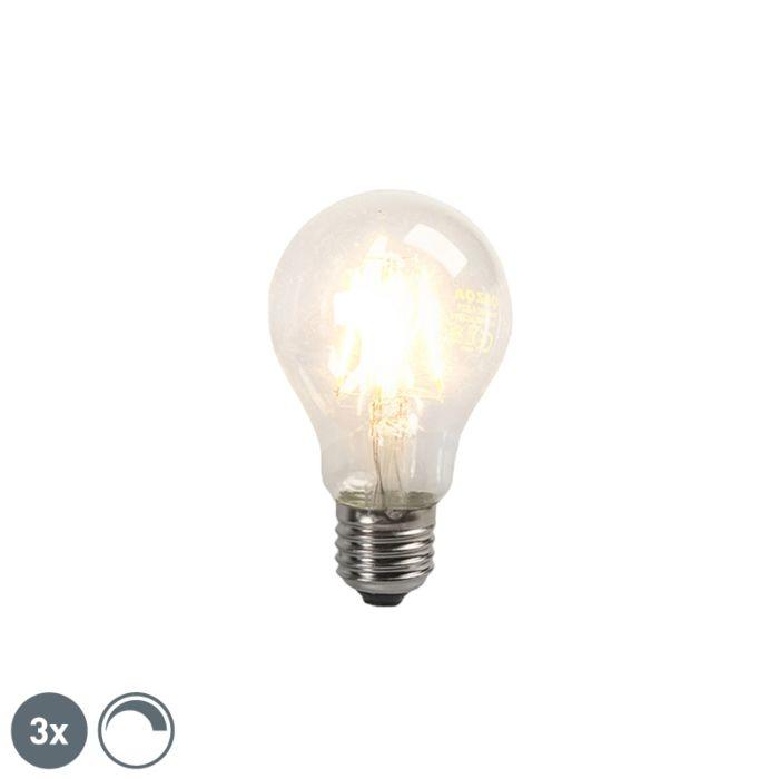 Komplet-3-LED-žarnice-z-žarilno-nitko-E27-4W-390lm-za-zatemnitev