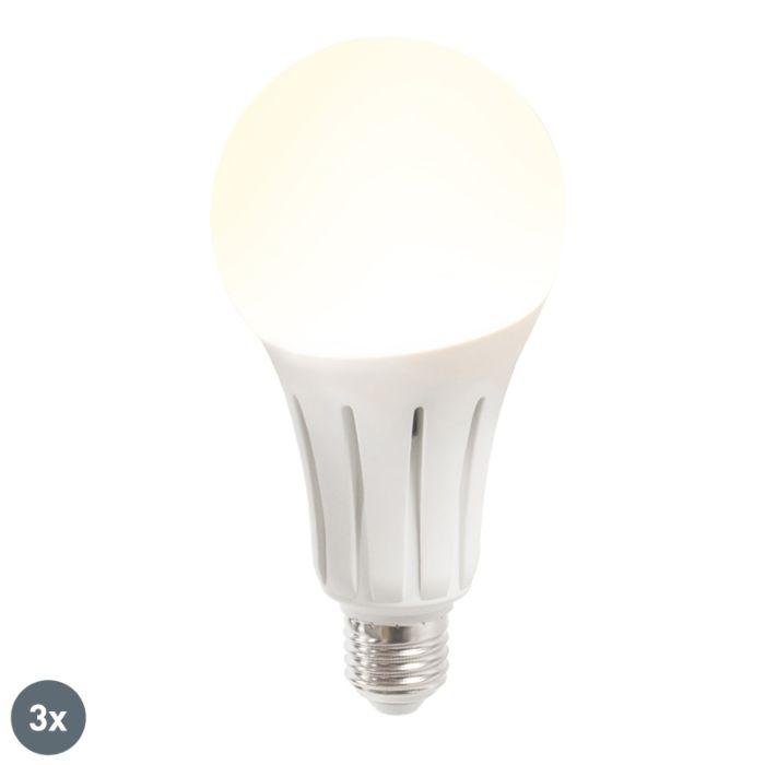 Komplet-3-LED-svetilke-B60-18W-E27-toplo-bela