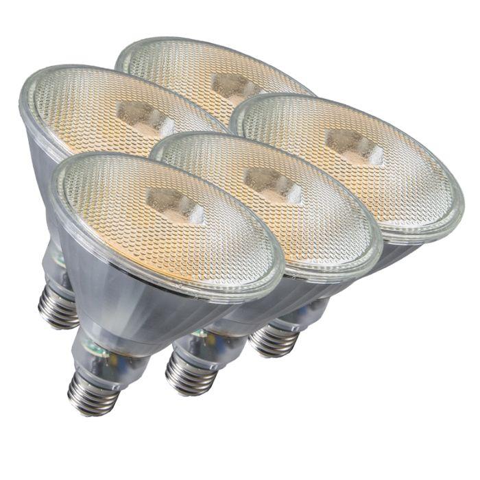 Komplet-5-svetilk-Par38-E27-20W-800LM-2700K
