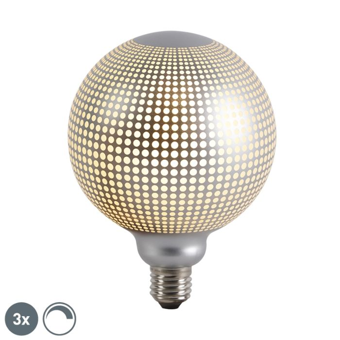 Komplet-treh-zatemnljivih-LED-žarnic-E27-DECO-4W-240-lm-2700K