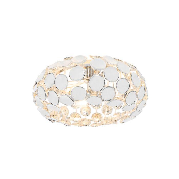 Dizajn-stropna-svetilka-krom---Reza