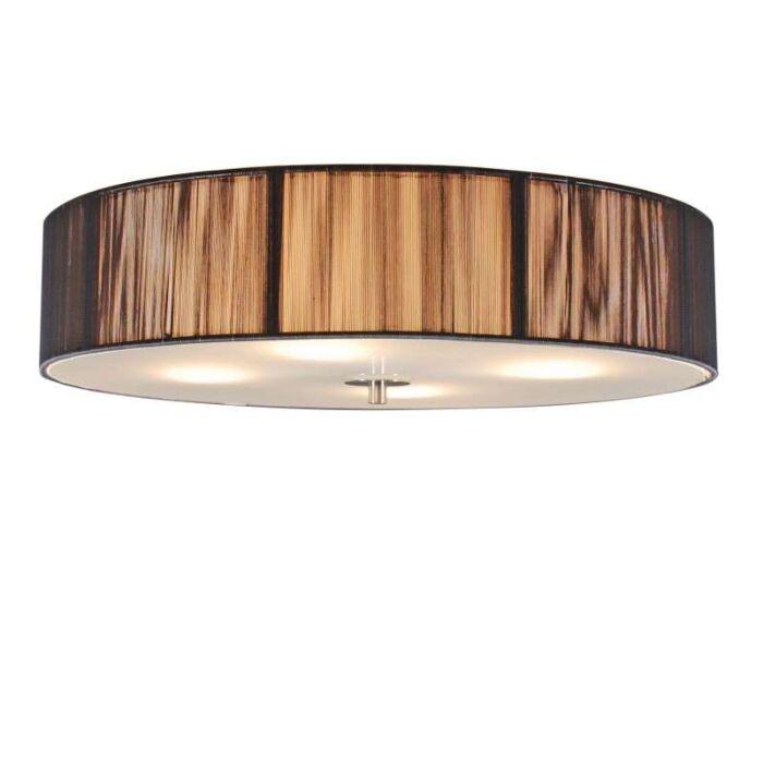 Klasična-stropna-svetilka-antracit-50-cm---Vrv