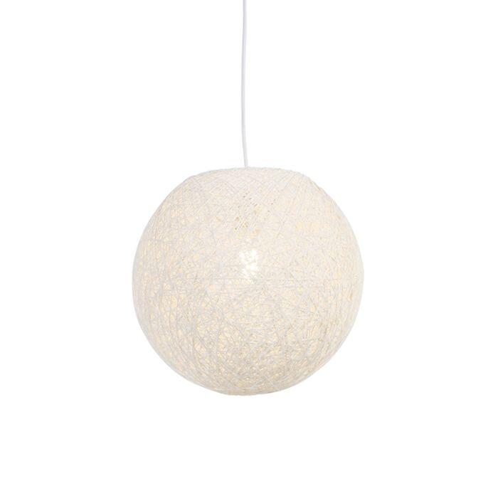 Državna-viseča-svetilka-bela-35-cm---Corda