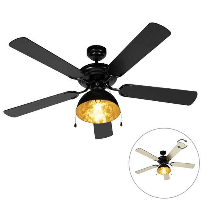 Industrijski-stropni-ventilator-črne-barve---Magna