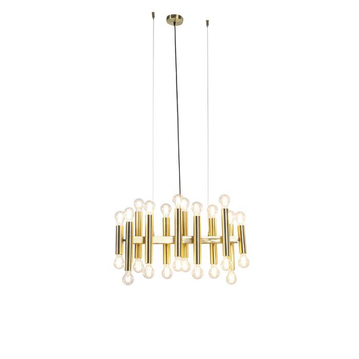 Art-deco-viseča-svetilka-zlata-24-lučk---Facil