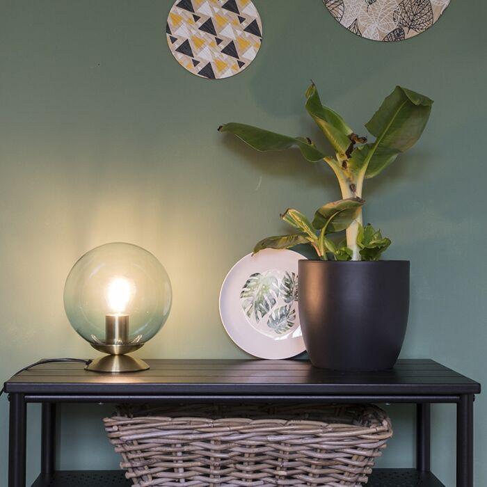 Art-deco-namizna-svetilka-medenina-z-modrim-steklom---Pallon