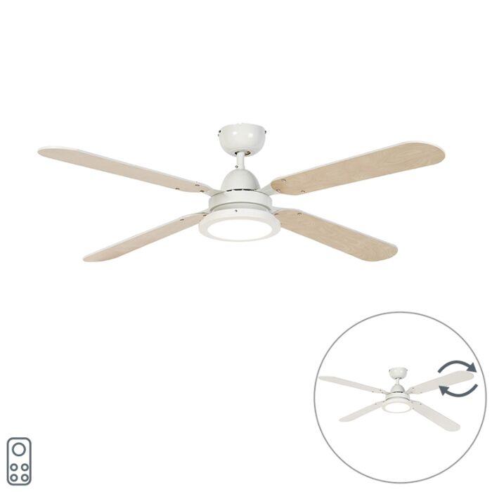 Stropni-ventilator-bele-barve-z-daljinskim-upravljalnikom---Fanattic